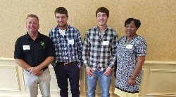 Students in UVA apprenticeship program