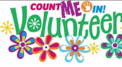 Flowers with Count Me In Volunteer