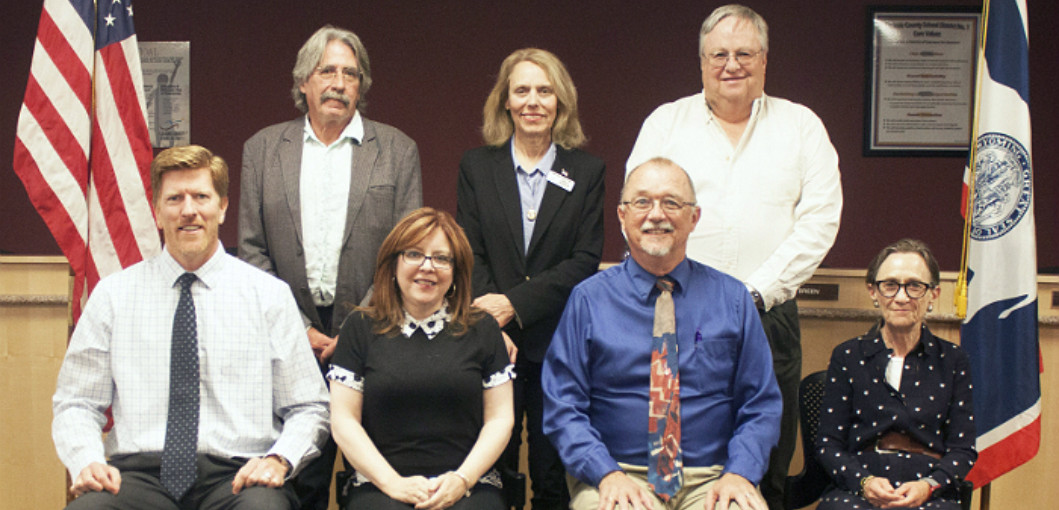 Group photo of the LCSD1 Board of Trustees