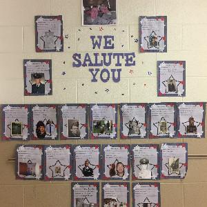 Third Grade Salutes Our Veterans