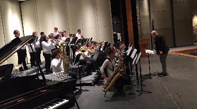 Middle School Jazz Band Competition