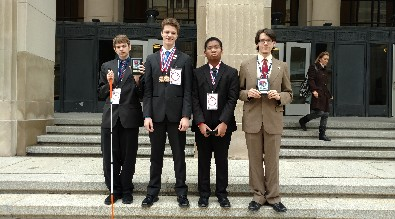 Winners at Business Professionals of America Competition