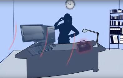 school office receiving audio enhancement notification