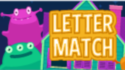 upper lower letter match