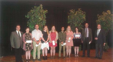 GEHS Scholarship Recipients 2016