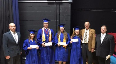GWHS Scholarship Recipients 2016