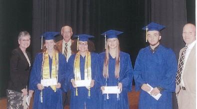 GWHS Scholarship Recipients 2016