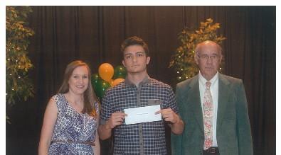 David E. Yarid Scholarship Awarded to Caleb Ward