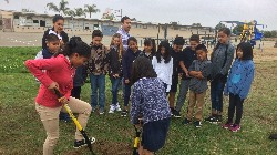 4th graders take the first dig