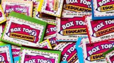 Boxtops for Education!