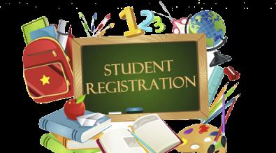student registration info