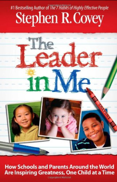 The Leader in Me book cover