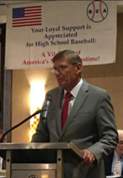Coach Stout Inducted Into National High School Baseball Coaches' Association Hall of Fame!