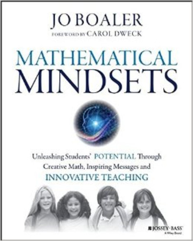 mathematical mindsets training video cover