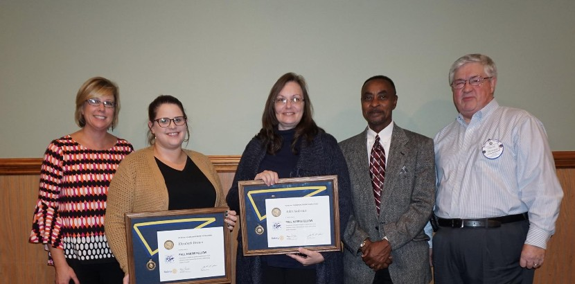 GCPS Teachers Recognized by Oxford Rotary Club