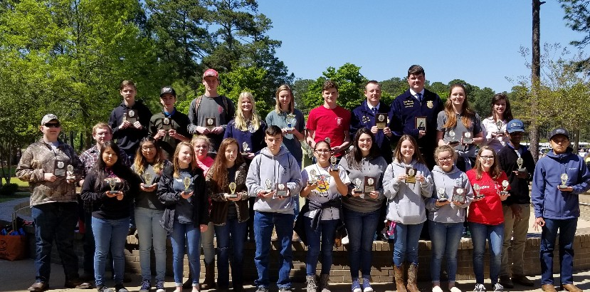 JFW HS FFA Students REPRESENT!