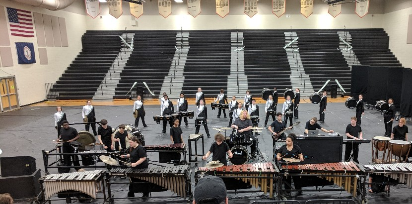 Picture of Winter Percussion Ensemble