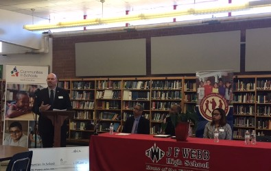 JF Webb HS Receives $125,000 Grant to Help Students