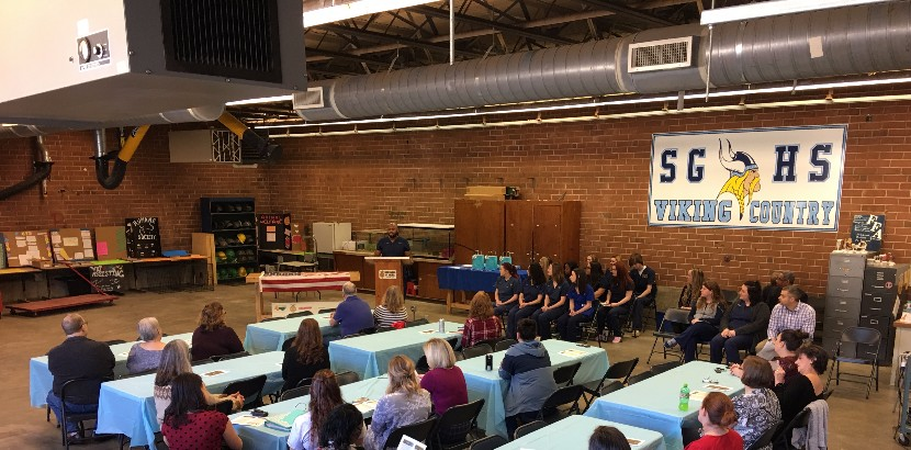 SGHS Holds Veterinary Assistant Ceremony