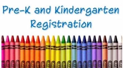 Pre-Kindergarten and Kindergarten Registration OPEN!