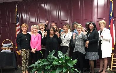 GCPS 2017 retirees photo