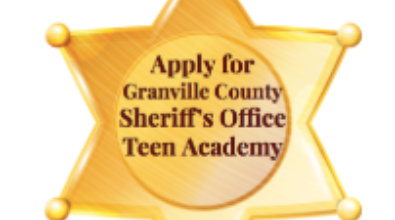 Sheriff's Office Teen Academy Information