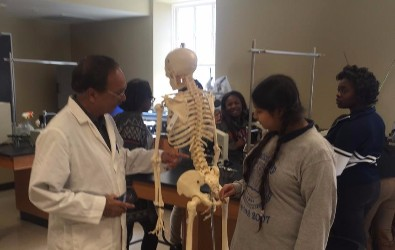 The BMS Beta Club visited Rust College in February.
