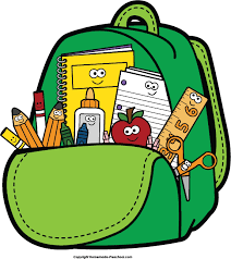 Image result for school supply list clipart
