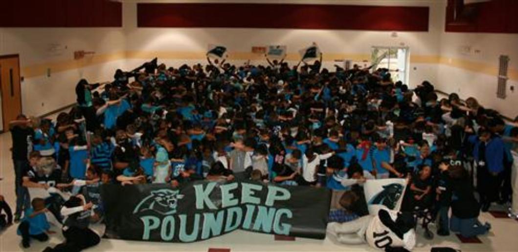 Carolina Panthers - Keep Pounding!