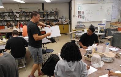 Mr. Worsey's Ceramics Class