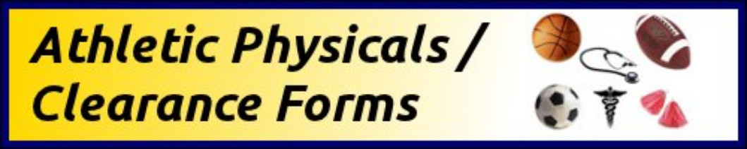 Athletic Physical / Clearance Forms
