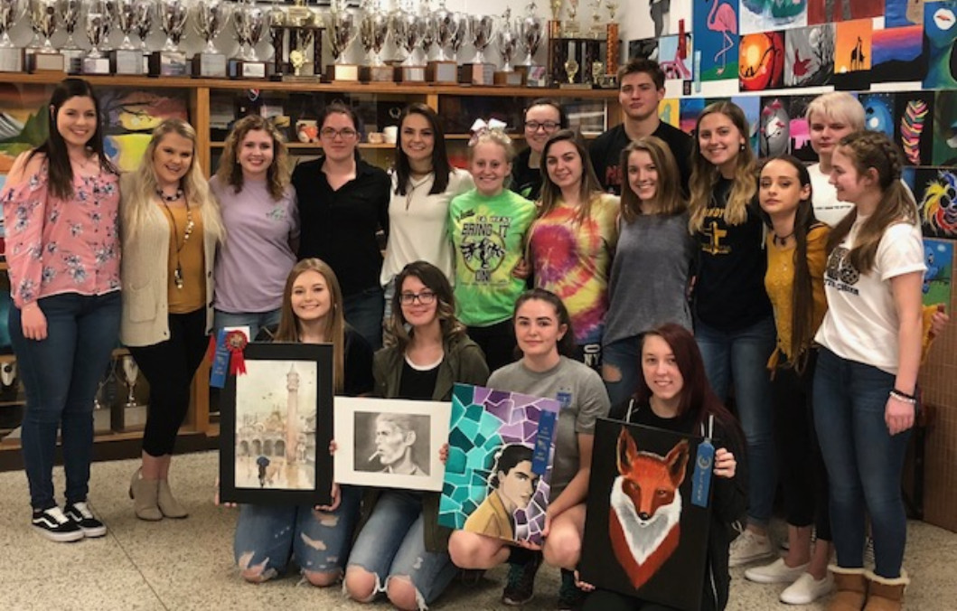 2018 GHS Art Show Winners
