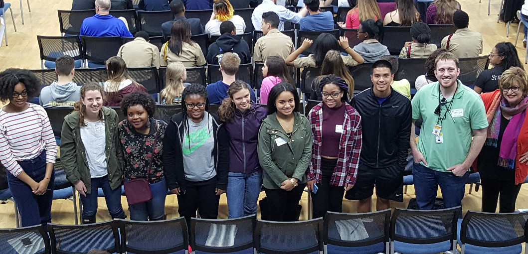 UCHS students participate in the final Student Summit on Race for the 2015-16 school year.