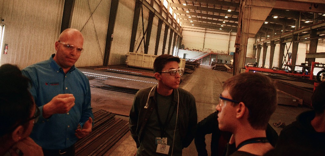 Manufacturing Day Brings Together 18 High Schools