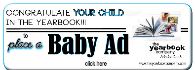 Order your Senior/Baby ad here from https://theyearbookcompany.com/.
