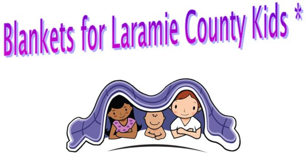 Blankets for Laramie County Kids Service Project