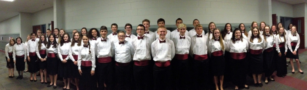 S Chorus at the Southwestern Indiana Choral Festival