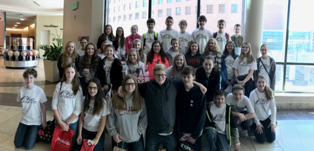 MS Chorus at the Mistletoe Music Festival in Indianapolis