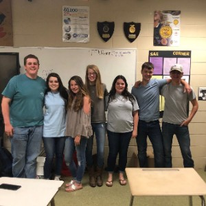 Laurens FFA Officers