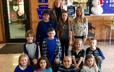 2017-2018 Elementary Students in the Spotlight!