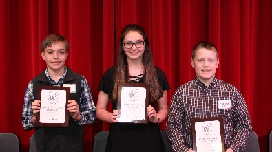 HCSD Spelling Bee Winners