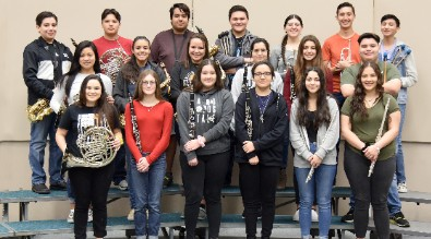 Band students participates in solo and ensemble