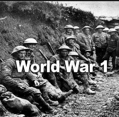 7th Grade World War I Gallery Walk