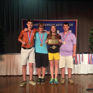 Literary Criticism Team Wins State Championship