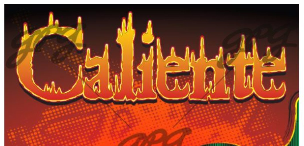 Caliente graphic