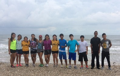 Cross Country Team Annual Beach Run
