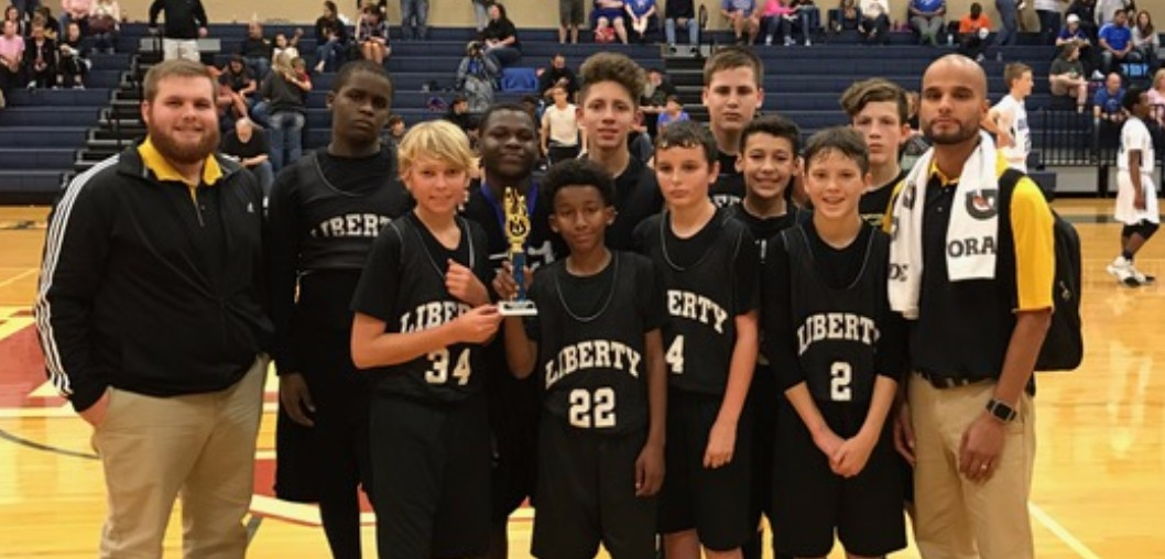 7th and 8th grade boys competed in the SETX Open Courts 2017 Middle School Boys' Tournament hosted by Hardin Jefferson.