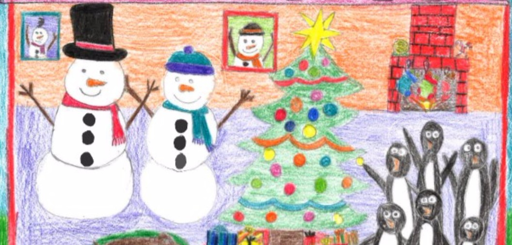 2016 Christmas Card Winners - Lexi Chaparro, Liberty Elementary School