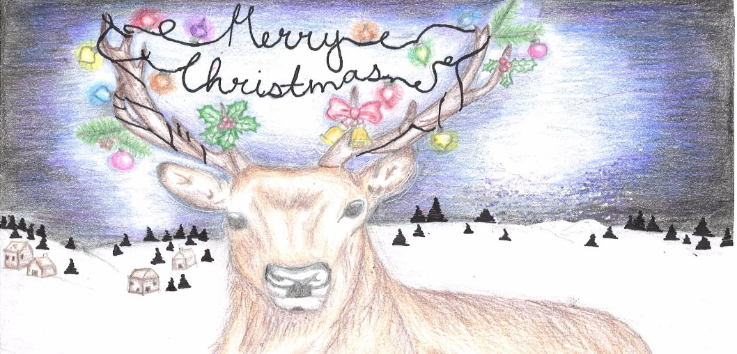 2016 Christmas Card Winners - Daniela Franco, Liberty High School
