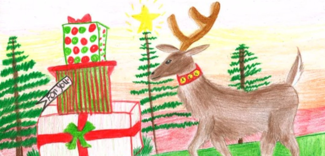 2016 Christmas Card Winners - Valarie Morris, Liberty Middle School